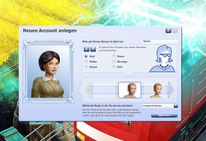 Rail Nation Browsergame - Charaktererstellung