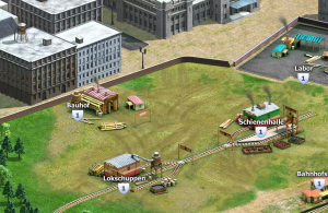 Rail Nation Browsergame - Lokschuppen