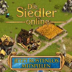 Die Siedler Online Browsergame - Banner