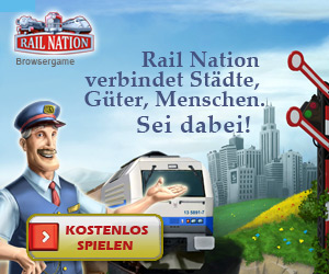 Rail Nation Browsergame - Banner