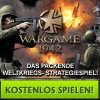 Wargame1942 Browsergame Banner