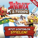 Asterix and Friends Browsergame - Banner