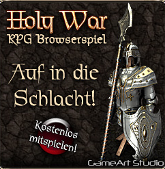 Holy War Browsergame - Banner