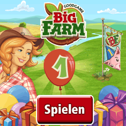Big Farm Browsergame Banner