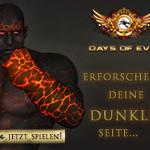Days of Evil Browsergame Banner