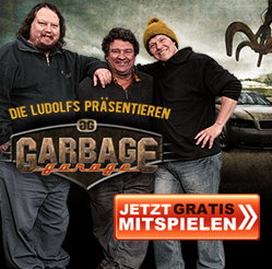 GarbageGarage Browsergame Banner
