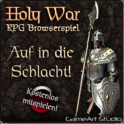 Holy War Browsergame Banner