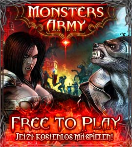 Monsters Army Browsergame Banner