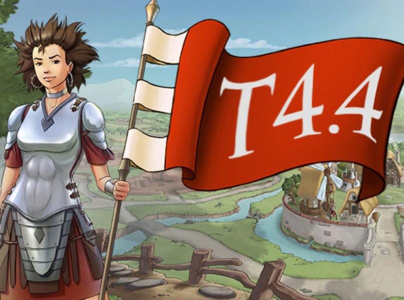 Für das kostenlose Browsergame Travian steht Version T4.4 ins Haus.